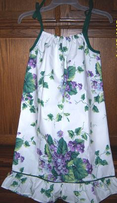 One of the many pillowcase dresses I made for LDFA