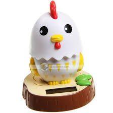 Chicken Solar Bobble Head Bobble Head Bobble Solar Gadgets Products