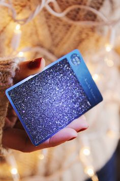 Ring in the holiday season with the Deep Blue Starbucks Card embellished with Swarovski crystals. Now available in select stores while supplies last.