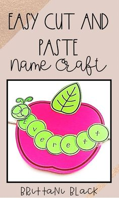Are you looking for an easy apple cut and paste craft as you head back to school? This apple craft is easy to prep and easy to complete! September Preschool, Kindergarten First Day, Kindergarten Crafts, Classroom Crafts, Teaching Kindergarten, Preschool Activities, September Art, September Activities, Classroom Helpers
