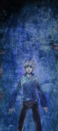 300 years in down there by llllawliet.deviantart.com - RotG Jack Frost