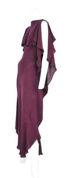 Vintage Halston Chiffon Gown @ Resurrection Vintage