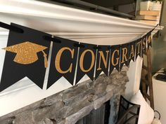 Items similar to graduation party decorations*graduation banner*congrats banner*congratulations banner*high school graduation*graduation 2020 decorations on Etsy Graduation Banner, Graduation Party Decor, High School Graduation, Grad Parties, Graduate School, Graduation Ideas, Congratulations Banner, Weekend Is Over, Homeschool
