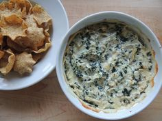 Best Spinach Artichoke Dip - please the whole crowd every time! I substitute greek yogurt for sour cream but add extra cheese!