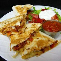 Texas Chicken Quesadillas - Allrecipes.com