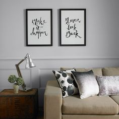 Black Ombre Cushion Home Accessories by Graham and Brown