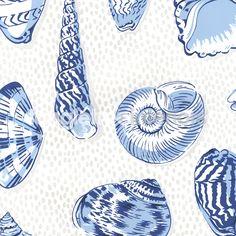 Monterey Wallpaper from Thibaut - T6710 - Blue