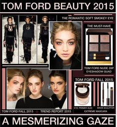 A Mesmerizing Gaze - Tom Ford Beauty Fall 2015 by latoyacl featuring Tom Ford