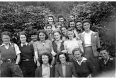 Women's Timber Corps based at Glenkindie House