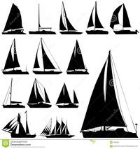 Sailing Boat Vector - Download From Over 49 Million High Quality Stock Photos, Images, Vectors. Sign up for FREE today. Image: 7965381