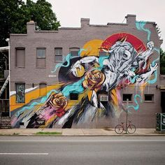 House of Meggs for the Richmondmuralproject1 at 2 North Meadow Drive, Richmond, Virginia, USA, 2017
