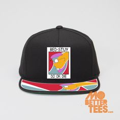 Radio Raheem, Do the right thing, Spike Lee Joint, Bed-Stuy Do Or Die SNAPBACK HAT by MoBetterTs on Etsy