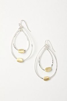 Anthropologie : Elench Dollop Hoops $32.00