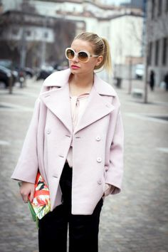 The Fashion Fruit » Dondup party!  Dondup Coat and Shirt @VeronicaFerraro