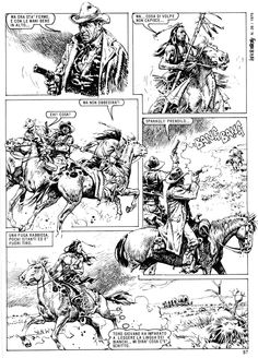 I bought this comic at a store called 'Francois' in Eastbourne, England. Francois sells all kinds of collectibles, including comics, an. Jean Giraud, Serpieri, Science Fiction Series, Morris, Cowboy Art, Le Far West, Comic Page, Western Art, Female Images