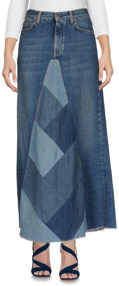 562313d12d1 Saint Laurent Denim skirts Denim Skirts
