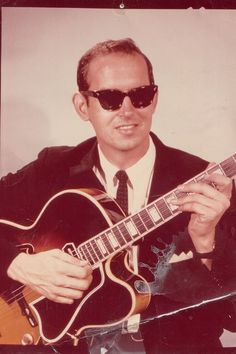 Mike Richey with guitar