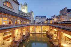 Ancient Roman Baths in England   The Roman Baths