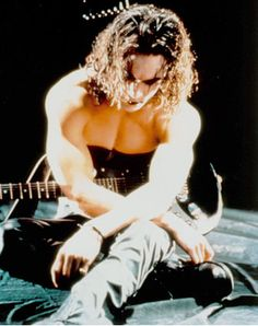 Brandon Lee. I was so sad when he died. I LOVE The Crow. He's the ultimate…