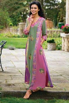 Nuri Batik Dress from Soft Surroundings