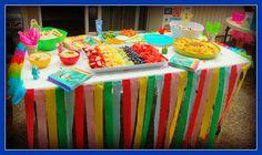 Yo Gabba Gabba table decoration