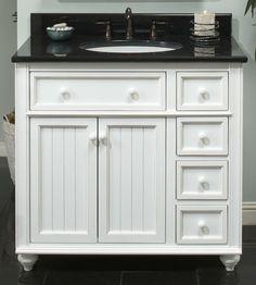 9 best white cottage style bathroom vanities images in - White cottage style bathroom vanities ...
