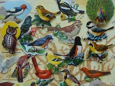 Hey, I found this really awesome Etsy listing at https://www.etsy.com/listing/66922059/2-dozen-antique-dennison-gorgeous-bird