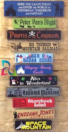 Nov 2018 - Disney Favorites Sign - See Your Favorite Memories From th on your wall from Disneyland, Disney World, Cruise, or any of the Parks Disney Diy Crafts, Disney Home Decor, Disney Wall Decor, Disney Decorations, Disney Themed Rooms, Disney Bedrooms, Disney Sign, Disneyland Sign, Disney Art
