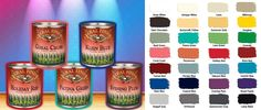 New colorful milk paints from General Finishes now at Woodcraft. http://bit.ly/1iqGuTv