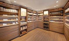 Davidoff Cigars flagship store by ARNO, Brussels – Belgium » Retail Design Blog