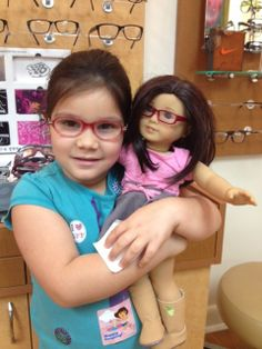 Daphne, 6, with glasses to match.