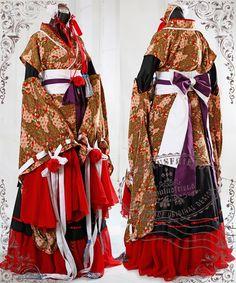 'heian noble literator' wa lolita 7pc kimono - fanplusfriend
