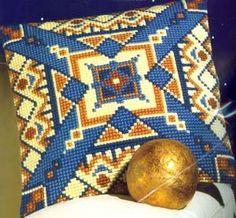 Gallery.ru / Фото #1 - 6 - lia2035 Cross Stitch Embroidery, Cross Stitch Patterns, Cushion Cover Pattern, Cross Stitch Cushion, Monogram Pillows, Needlepoint Pillows, Needlework, Mandala, Kids Rugs