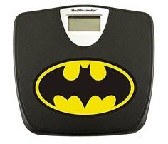 New Black Digital Bathroom Weight Scale featuring Batman Logo The Furniture Cove