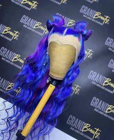 Baddie Hairstyles, Pretty Hairstyles, Wig Styles, Long Hair Styles, Hair Styles With Weave, High Fashion Hair, Pretty Hair Color, Multicolored Hair, Colored Wigs