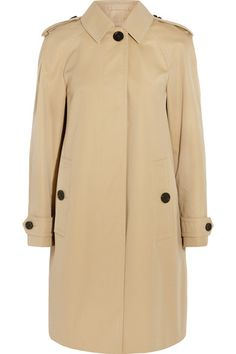 Burberry London | Lanebridge cotton-gabardine trench coat | NET-A-PORTER.COM