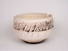 Artist: Ani Kasten, Title: Cream Glacier Bowl