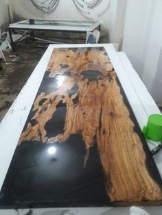 Discover recipes, home ideas, style inspiration and other ideas to try. Faux Marble Countertop, Resin Countertops, Epoxy Countertop, Good Enough, Resin Furniture, Resin Table, Epoxy Wood Table, Wood Resin, Into The Woods