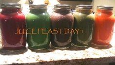 day of juicing