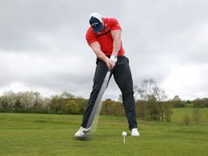 Creating more power in the golf swing is not necessarily about swing harder. Here are three keys to increase your swing speed through improving key mechanics at work within your technique ** Golf Driver Golf 6, Play Golf, Disc Golf, Golf Score, Golf Clubs For Sale, Golf Drivers, Driving Tips, Golf Instruction, Golf Tips For Beginners