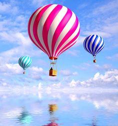 striped ballons  |  www.google.com