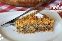 Kadayıflı Kek Tatlısı Tarifi – Nefis Yemek Tarifleri
