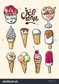 Beautiful hand vector hand drawn illustration home. - Beautiful hand vector hand drawn illustration home… – … Beautiful hand vector hand drawn illustration home… – - Cute Food Drawings, Cute Animal Drawings, Kawaii Drawings, Easy Drawings, Food Drawing Easy, Music Drawings, Desenho Toy Story, Ice Cream Art, Draw Ice Cream