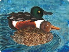 The 2014 Florida Junior Duck Stamp of Amanda Fermin, 17, honorable mention in Group IV, grades 10-12. DDWS photo