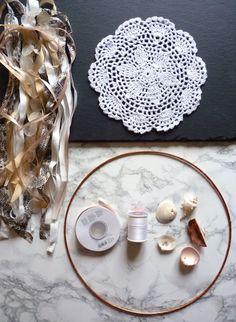 Traumfänger basteln: Boho DIY Traumfänger für dein Zuhause selbermachen – Aye, Aye DIY Rainbow Diy, Boho Decor, Dream Catcher, Diy And Crafts, Decorative Plates, Blog, Crafting, Inspiration, Ideas