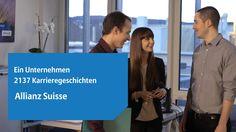 Die Allianz Suisse, eine attraktive Arbeitgeberin auf dem Schweizer Markt: http://www.allianz-suisse.ch/karriere