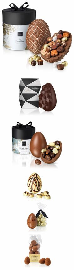 Hotel Chocolat Easter Eggs by size, #chocolate #easter #eastereggs #gifts