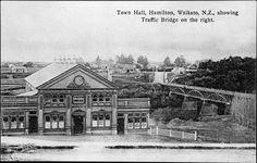 Hamilton Town Hall Town Hall, Hamilton, Louvre, Colours, History, Building, Construction, Historia, History Books