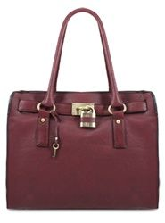 Melie Bianco Angela Large Lock and Key Bag Available at It's in the Bag in Mustard, Brown, Gray, Taupe and Orange