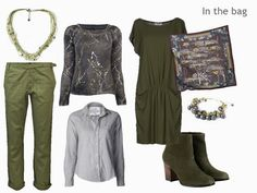 The Vivienne Files: Olive and Grey for a Long Weekend